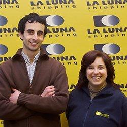 Socios trabajadores de la cooperativa LA LUNA shipping