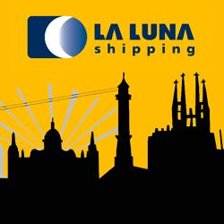 LA LUNA shipping Barcelona