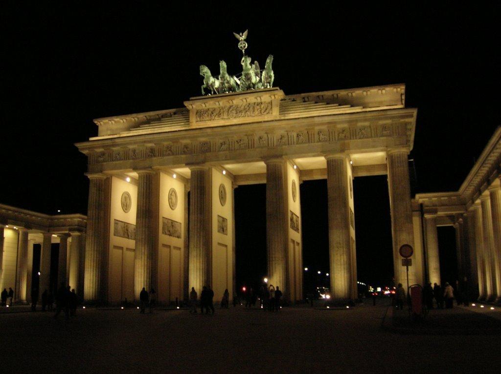 Berlin - Puerta de Brandenburgo