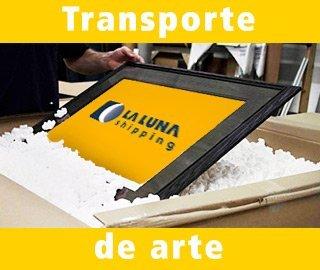 transporte de arte
